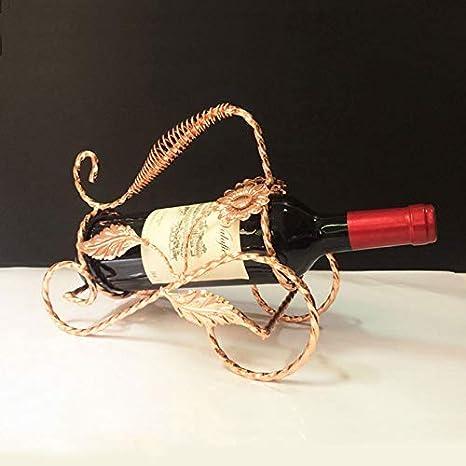 Begonia Flowers Oro Rosa Abracing Rastrelliera per Vino Stand Vintage Triciclo Modello Ornamenti Decorazione per la Casa Soggiorno