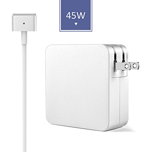 Swtroom Macbook Air Charger, 45W t-Tip Power Adapter Ac Charger for Macbook Air 11