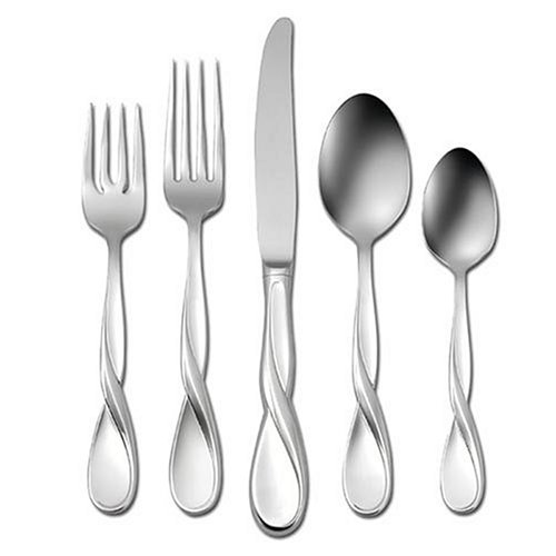 - Oneida Aquarius 5-Piece Place Setting, Service for 1