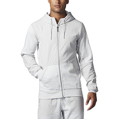 Champ Fleece Sweatshirt - adidas Men Athletics x Reigning Champ Fleece Full-Zip Hoody (L, RCCHAL)