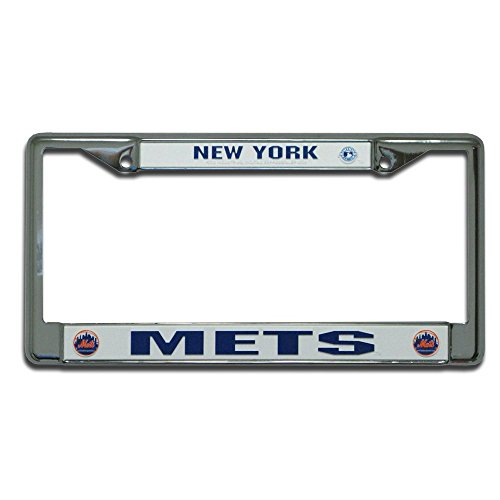 (Rico Industries New York Mets License Plate Frame)