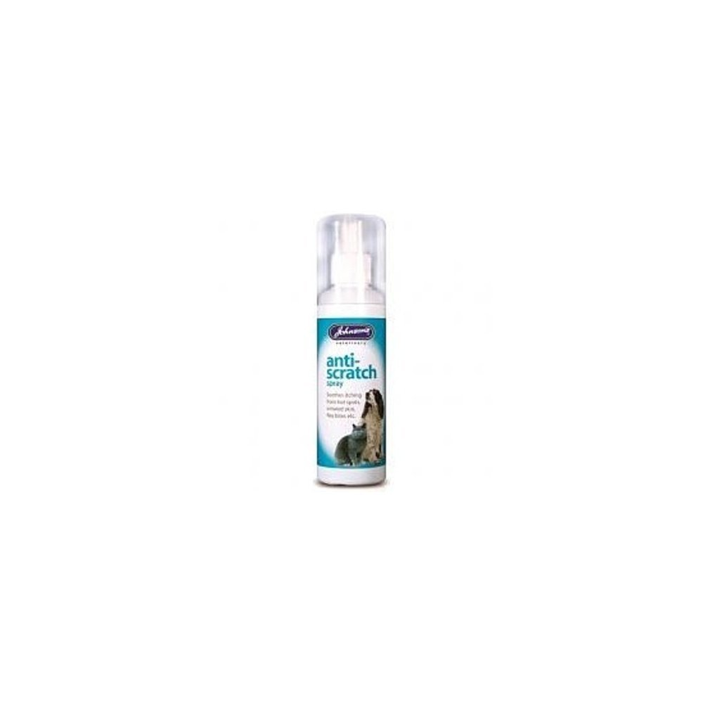 (2 Pack) Johnson's Vet - Anti-Scratch Spray Dog,Cat&Small Animal 100ml Johnson's Vet