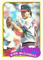 1989 Topps #421 Kirk McCaskill - California Angels (Baseball Cards)