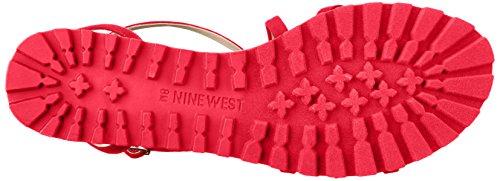 Tessuto Rosso Delle Donne Dellovest Delle Nove Donne