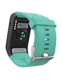 Garmin Vivoactive HR Watch Band, MoKo Soft Silicone Replacement Watch Band ONLY for Garmin Vivoactive HR Sports GPS Smart Watch with Adapter Tools - Mint GREEN