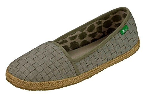 1521577b891 Galleon - Sanuk Womens Basket Case Loafer Olive Khaki Size 6