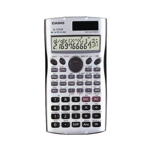 Casio FX115MS Scientific Calculator - 279 Functions - 2 Line
