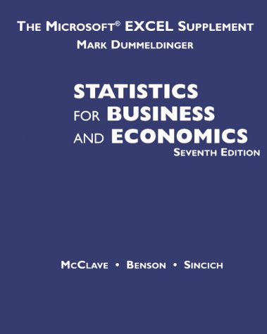 Study Guide For Statistics for Management and Economics