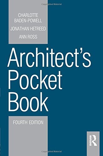 Architect's Pocket Book 4E (Routledge Pocket Books) by Ann Ross...