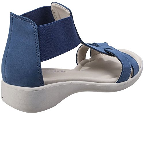 Womens Sandals Toe The Band Denim Flexx Nubuck Con Open Blue 1w1pIqZR