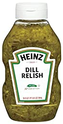 Heinz Dill Relish Squeeze Bottle, 26 oz