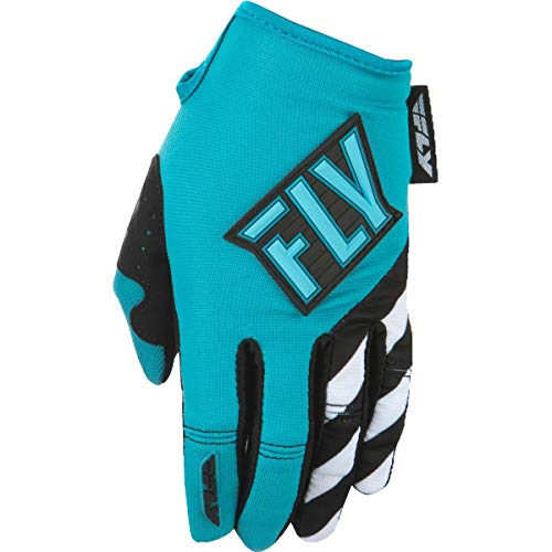 Fly Racing Men's Kinetic Gloves Blue/Teal X-Small