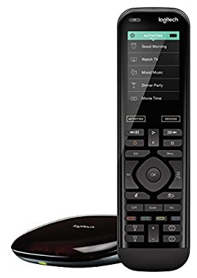 Logitech Harmony Elite All in One Remote Control, Universal Remote, Programmable Remote