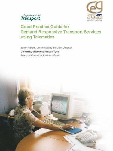 Good Practice Guide for Demand Responsive Transport Services Using Telematics