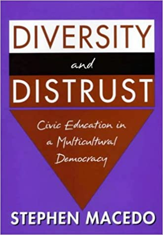 Book Diversity and Distrust: Civic Education in a Multicultural Democracy