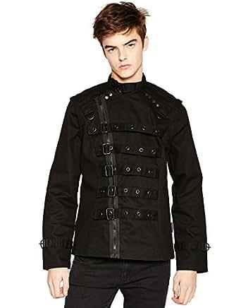 Tripp Zip Off Bondo Goth Psycho Jacket at Amazon Men's