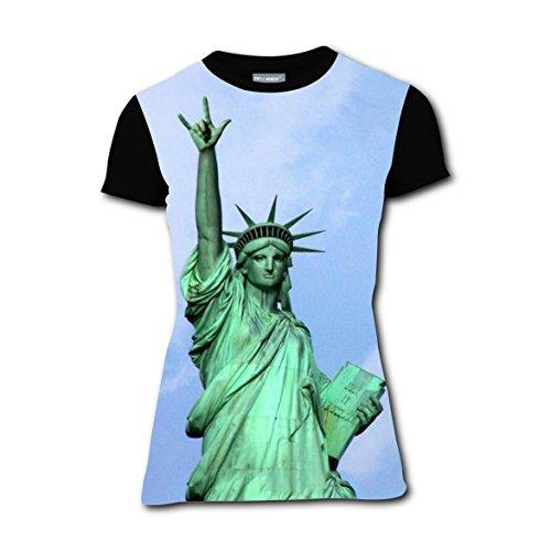 T-shirts Tee Shirt for Women Tops Costume Funny Rock Statue of Liberty (Statue Of Liberty Costume Ideas)
