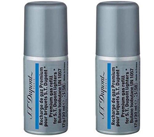 ST Dupont Multi-Fill Blue Butane Gas Refill (30ml) TWO PACK