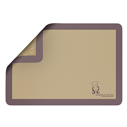 PREMIUM Silicone NonStick Baking Mat - (x1) Baking Tray Liner (28 x 38cm) -...