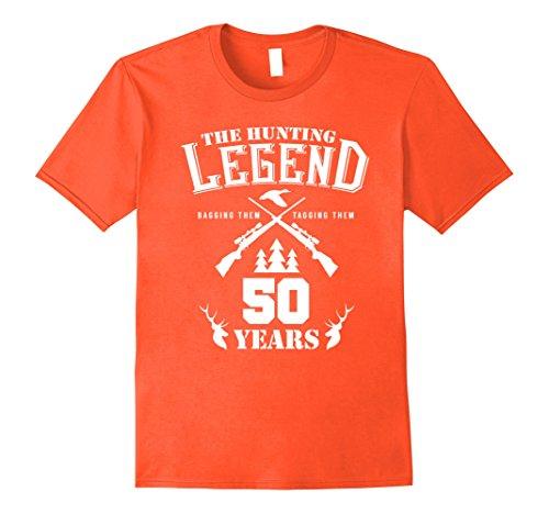 Mens 50th Birthday Present for Hunters XL Orange