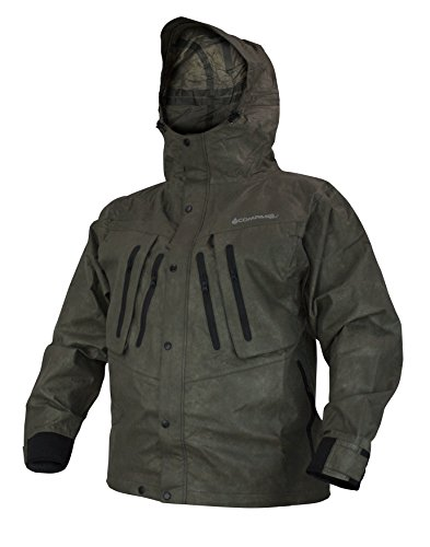COMPASS ST23105-85-LG SportTek T50 Wading Jacket, Stone