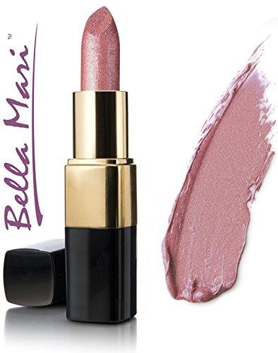 Bella Mari Natural Mineral Lipstick, Sentimental Shimmer; -