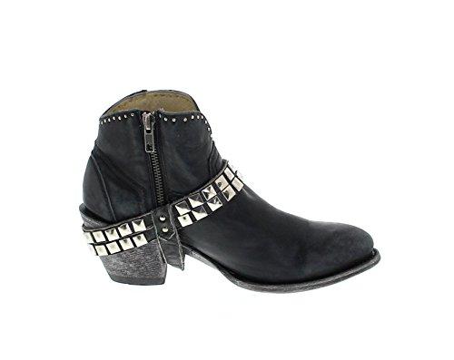 FB Fashion Boots Women's G3199 Cowboy Boots Black PL0LQ