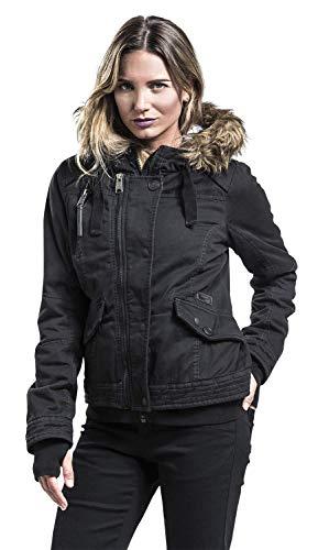 Brandit Brandit Noir Veste Phoebe Phoebe Brandit D'hiver Noir D'hiver Veste 64Zdq