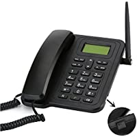 Desk Phone Support 3G with Rechargeable Battery Desktop 3G Telephone by HCW
