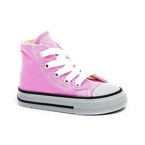 Converse - Zapatillas de gimnasia, infantil Pink