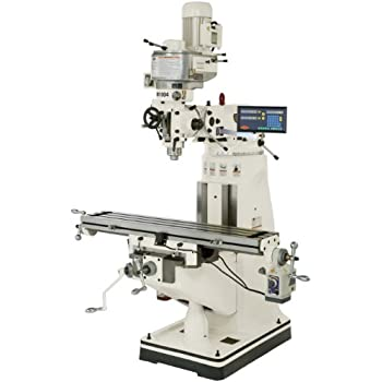 SHOP FOX M1004 9-Inch by 49-Inch Vertical Mill with Digital Readout