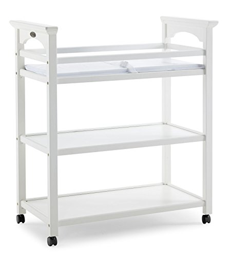 Stork Craft Graco Lauren Changing Table in White by Stork Craft
