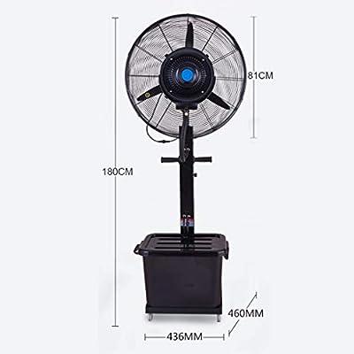 Ventilador Nebulizador Ventilador Industrial Niebla de ...