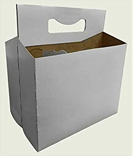 Amazon six pack bottle cardboard carrier boxes for 12oz glass tfd supplies six pack bottle cardboard carrier boxes for 12oz beer or soda bottles 10 pronofoot35fo Gallery