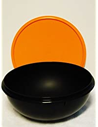 Acquisition Tupperware 26 Cup Fix N Mix Bowl. Black with Orange Seal online