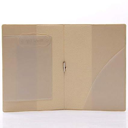 Housse de protection multifonction pour carte de passeport et carte didentit/é 14x10cm bleu