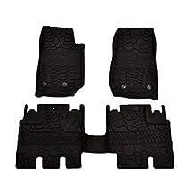 Mopar 82213860 Black All-Weather 3-Piece Floor Mat Set