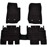 Black Nylon Carpet Coverking Custom Fit Front Floor Mats for Select BMW X3 E83 Models