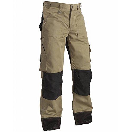 152318602499D116 Trousers Size 44/32 (Metric Size D116) In Kaki/Black