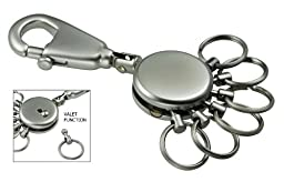 Patent Keyholder with 6 Rings (Skyr60) By Sensi