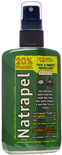 Natrapel 12-Hour Mosquito, Tick and Insect Repellent, 3.4 Ounce (Insect Repellent Natrapel Plus Spray)