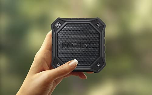 ION ISP74BK Dunk IPX7 Waterproof Portable Bluetooth Speaker With MicBlack