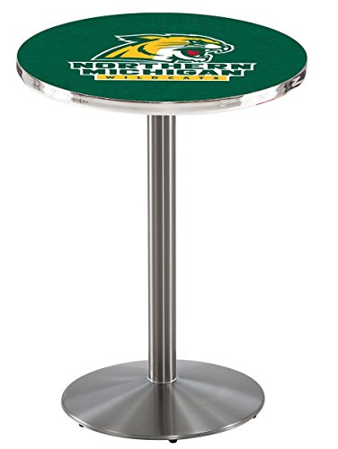 Holland Bar Stool L214S Northern Michigan University Officially Licensed Pub Table, 28