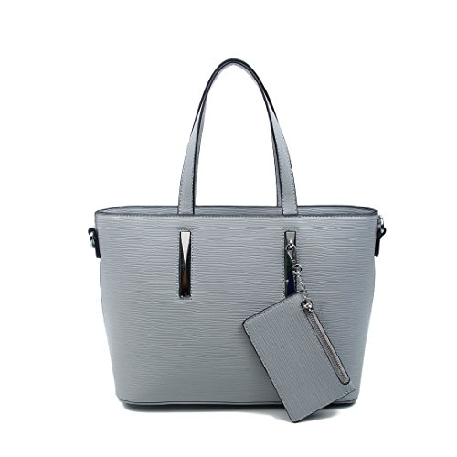 OBC Only-Beautiful-Couture - Bolso al hombro para mujer negro negro ca.: 37x25x12 cm (BxHxT) gris