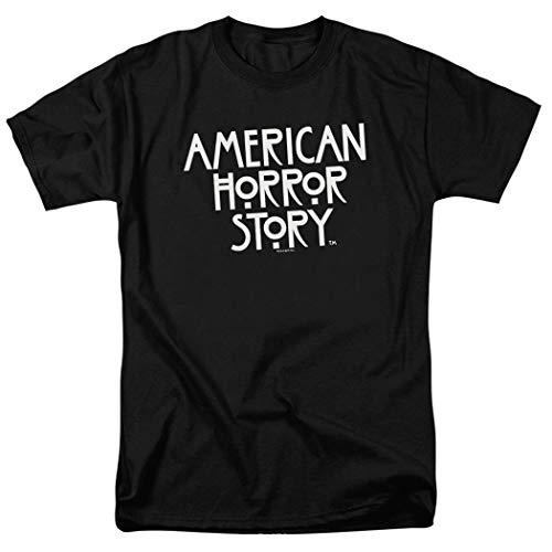Popfunk American Horror Story Logo T Shirt (Small) Black