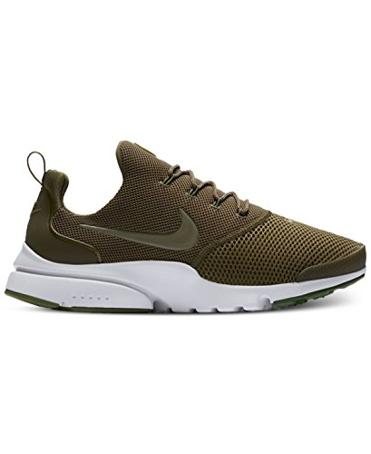Gymnastique Presto Olive NIKE Blanc de Vert Blanc Homme Blanc Fly Chaussures IAIqSwU7
