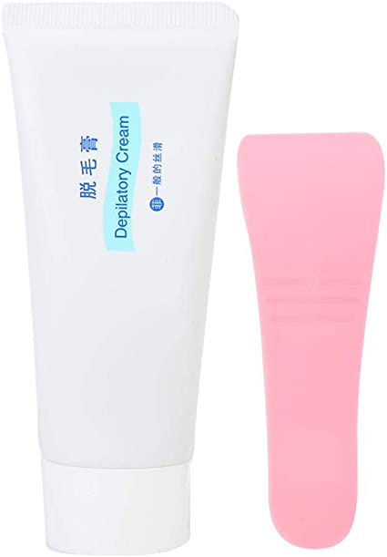 Crema depilatoria, crema depilatoria suave y no irritante con ...