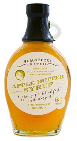 Apple Butter Syrup 3 Ingredients – Blackberry Patch 8 oz Bottle – Oprah's Favorite Things 2014, Small Batch  Handmade in Georgia, Perfect on Pancakes…