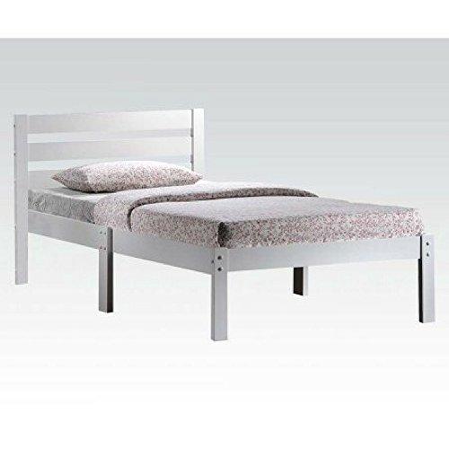 ACME Furniture 21528T-W Donato Bed, Twin (White)