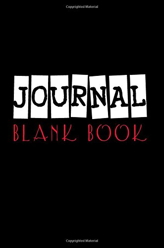 Journal Blank Book: 6 x 9, 108 Lined Pages (diary, notebook, journal)